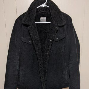 Men's ASOS Black Corduroy Jacket